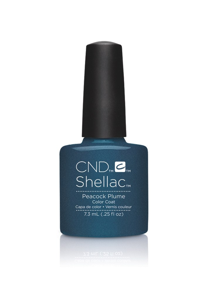 SHELLAC UV Color Coat - CONTRADICTIONS - Peacock Plume .25 oz #90860