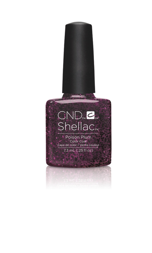 SHELLAC UV Color Coat - CONTRADICTIONS - Poison Plum .25 oz #90859