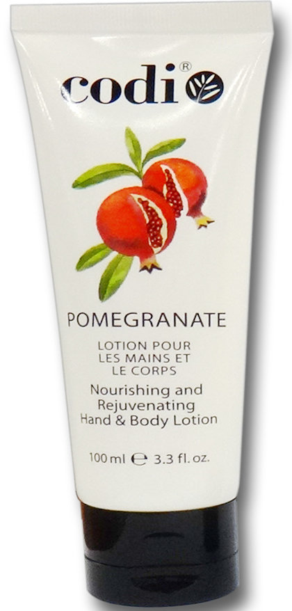 Codi, Hand & Body Lotion, Pomegranate 3.3 oz - 100 ml