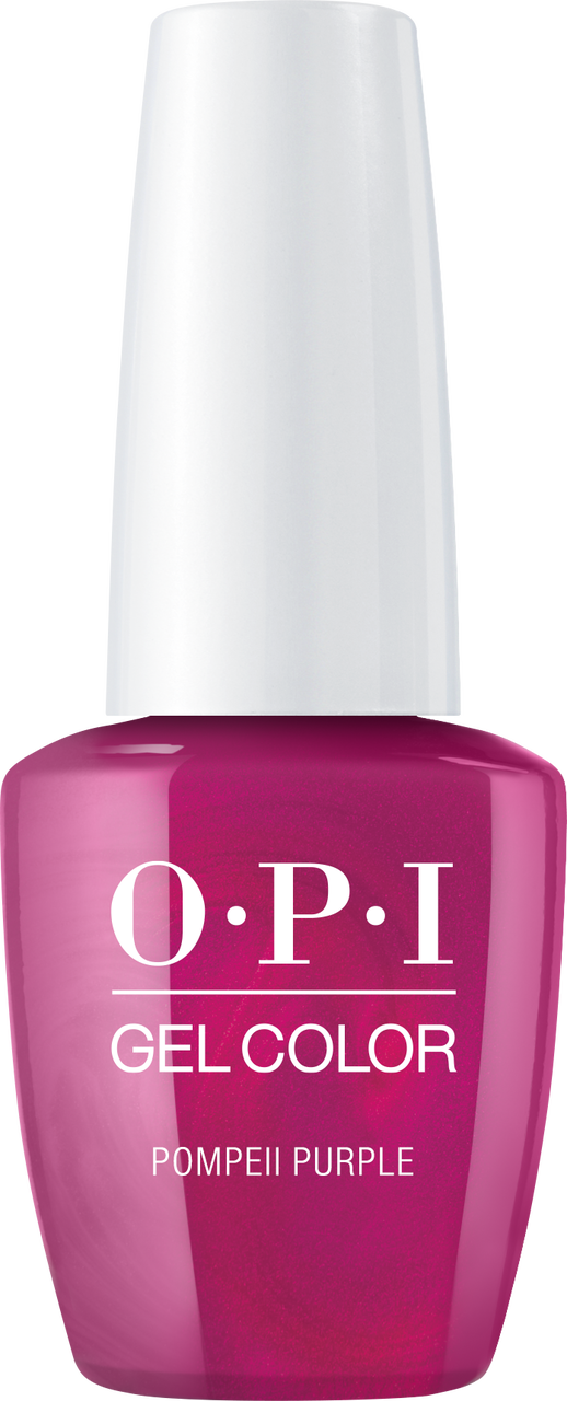 OPI GelColor - #GCC09A - POMPEII PURPLE .5oz