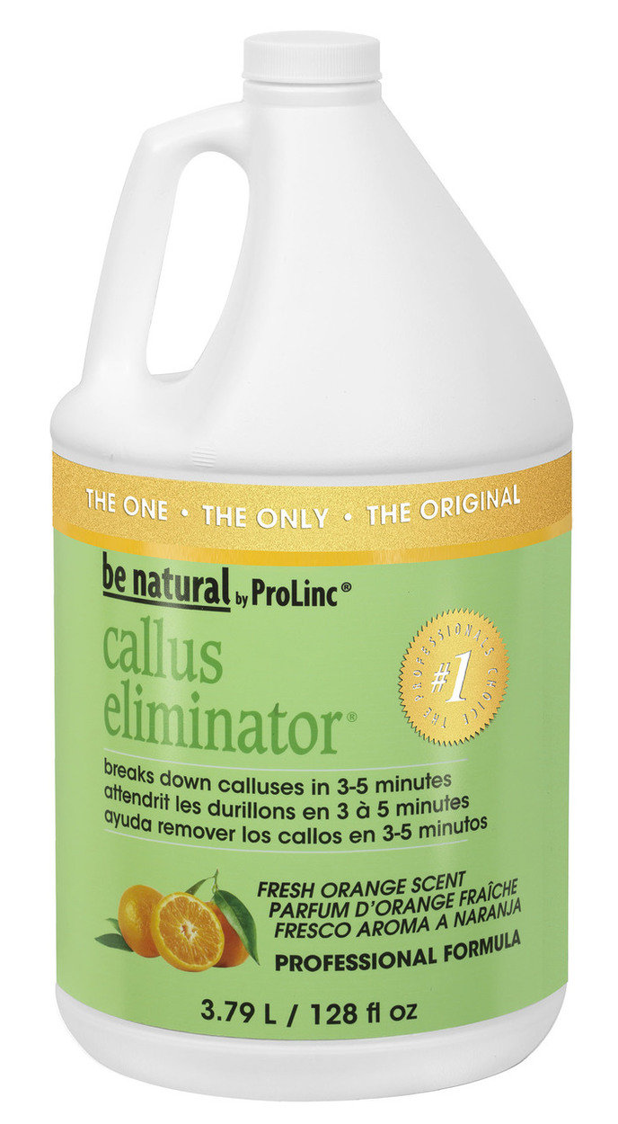 Be Natural Callus Eliminator Fresh Orange Scent 1 Gal