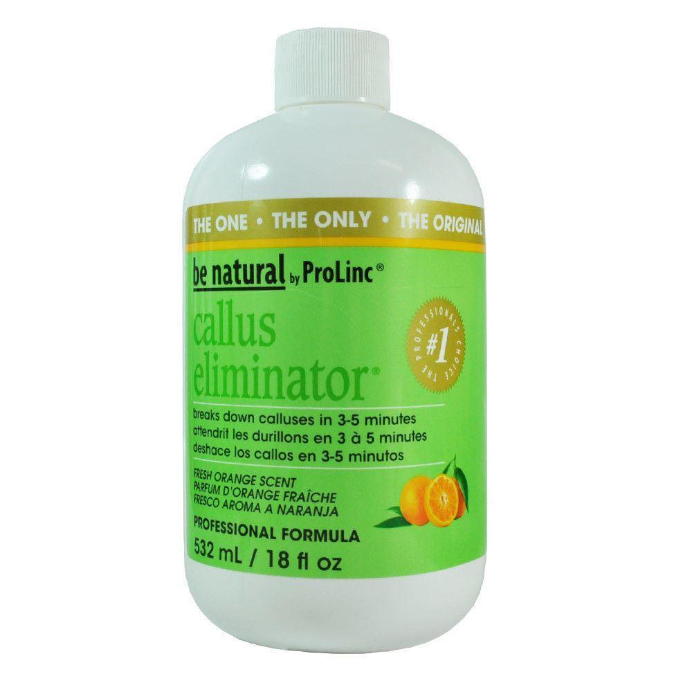 Be Natural Callus Eliminator Fresh Orange Scent 18 oz