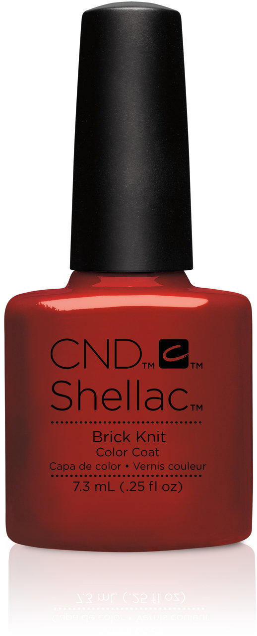 SHELLAC UV Color Coat - CRAFT CULTURE - Brick Knit .25oz #91251