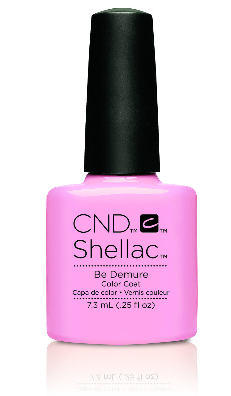 SHELLAC UV Color Coat -FLIRTATION - Be Demure .25oz #91173