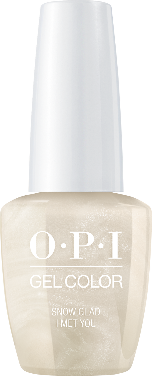OPI GelColor - Holiday Love - Snow Glad I Met You - #HPJ01