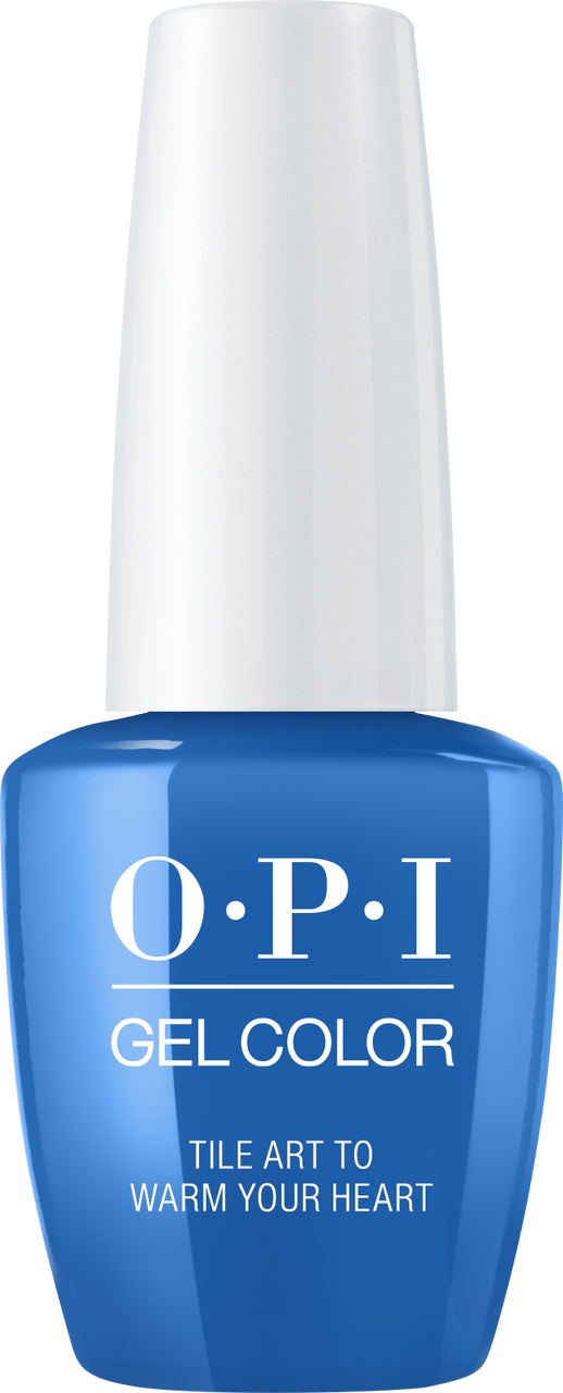 OPI GelColor - Lisbon - Tile Art to Warm Your Heart - #GCL25