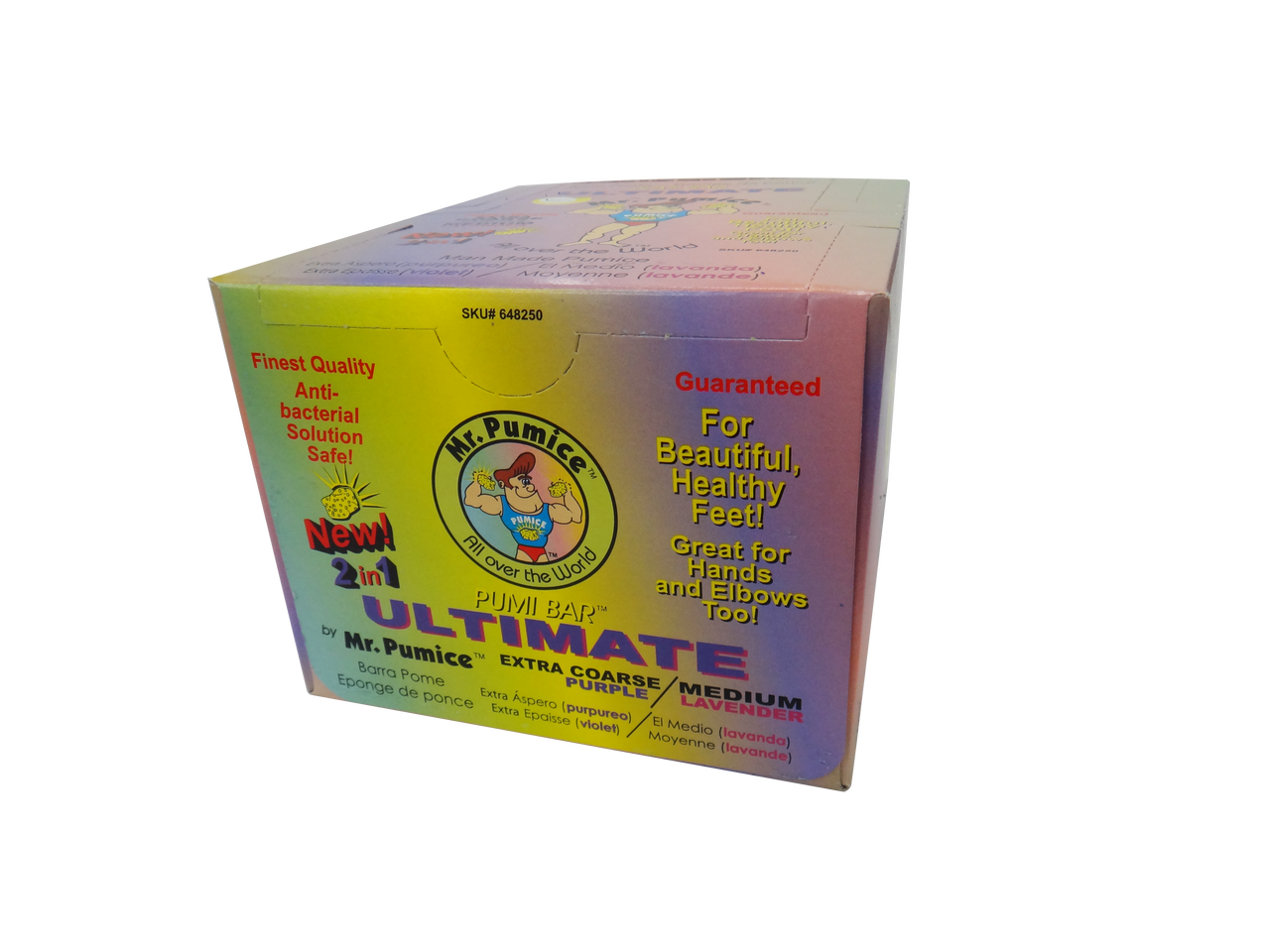 Mr. Pumice Ultimate 2 in 1 Pumi Bar (12 per Pack