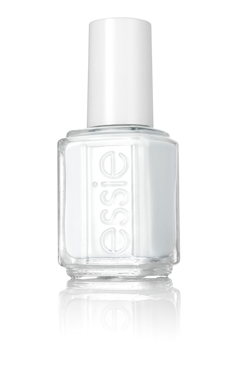 Essie Nail Color - #923 Silk WaterColor Collection, White Page .46 oz