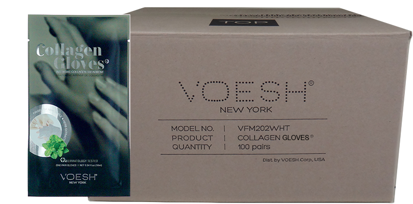 Voesh Collagen with Herb Extract, Gloves Case/100 pairs
