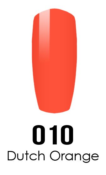 DND DC Duo Gel - #010 DUTCH ORANGE