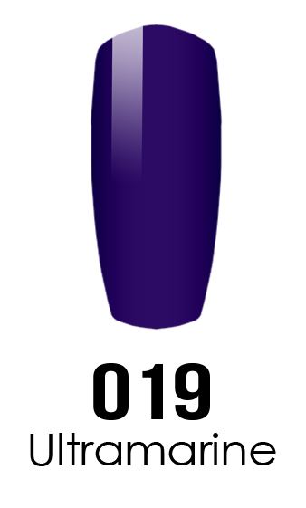 DND DC Duo Gel - #019 ULTRAMARINE