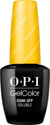 OPI GelColor - FIJI, #GCF91 - Exotic Birds Do Not Tweet