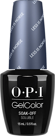 OPI GelColor - #GCI59 - LESS IS NORSE .5oz