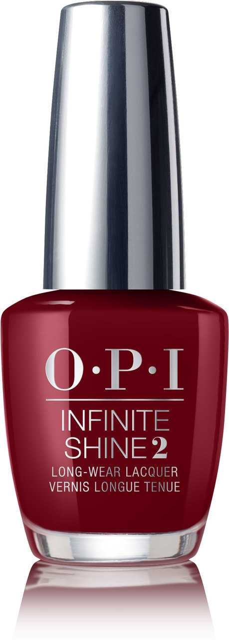 OPI Infinite Shine - #ISLW52 - GOT THE BLUES FOR RED