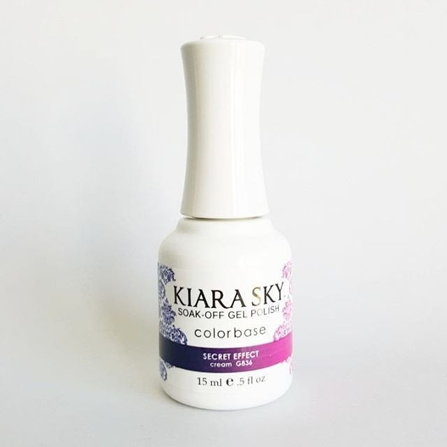 Kiara Sky Ombre Color Changing Gel Polish, Secret Effect .5oz G836