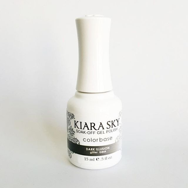 Kiara Sky Ombre Color Changing Gel Polish, Dark Illusion .5oz G844