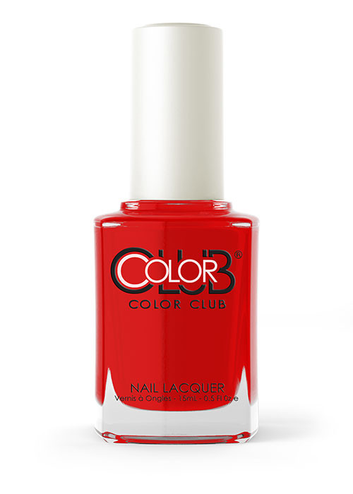 Color Club Lacquer, 05ALUV01 - RED - HANDED .5oz