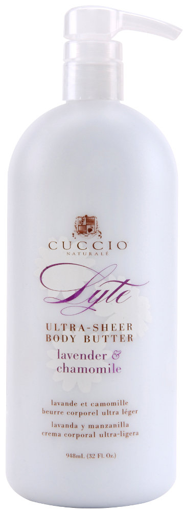 Lyte Ultra-Sheer Body Butter LAVENDER & CHAMOMILE 32 oz