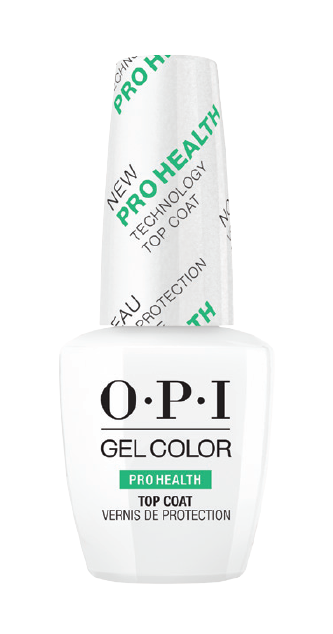 OPI GelColor, PROHEALTH TOP COAT .5oz