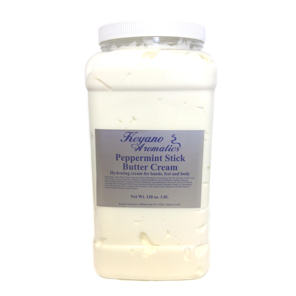 Keyano Manicure & Pedicure, Peppermint Stick Butter Cream Gallon