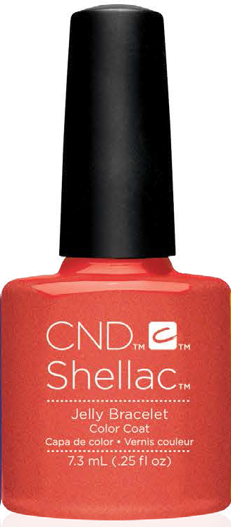 SHELLAC UV Color Coat - New Wave Spring Collection - JELLY BRACELET .25oz #91408