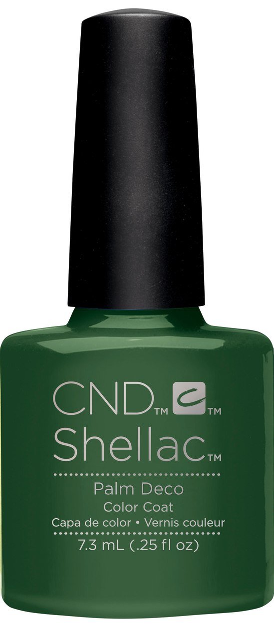 SHELLAC UV Color Coat - Rhythm & Heat Collection - PALM DECO .25oz #91585