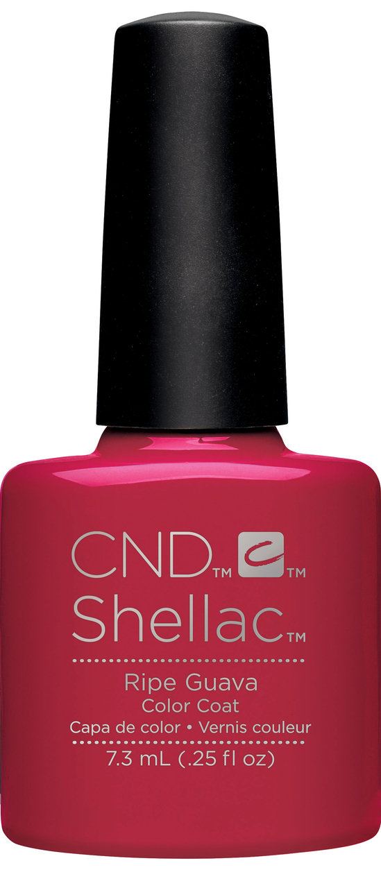 SHELLAC UV Color Coat - Rhythm & Heat Collection - RIPE GUAVA .25oz #91587
