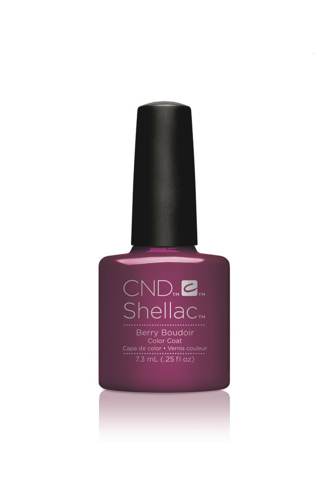 SHELLAC UV Color Coat - NightSpell - BERRY BOUDOIR .25oz - #91596