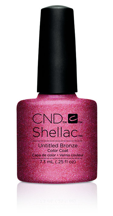 SHELLAC UV Color Coat - ART VANDAL - Untitled Bronze .25oz #91166