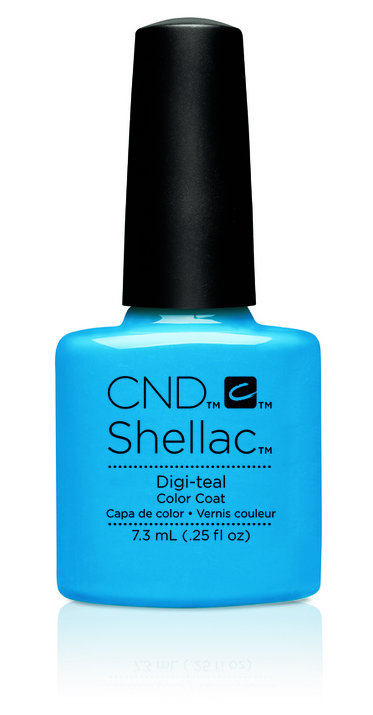 SHELLAC UV Color Coat - ART VANDAL - Digi-Teal .25oz #91167