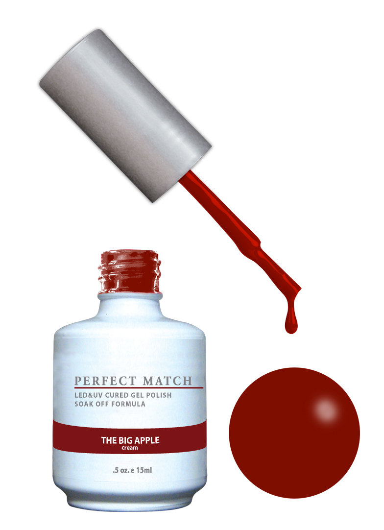 PERFECT MATCH - Gel Polish + Lacquer, The Big Apple PMS140
