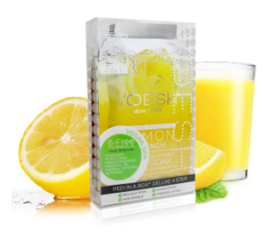 Voesh, Pedi in a Box (4 steps - Lemon Quench