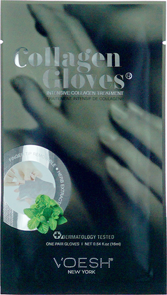 Voesh, Collagen Gloves with Herb Extract (Pair